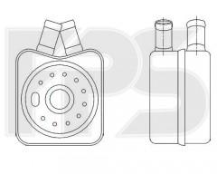Масляный радиатор для AUDI (NISSENS) FP 12 B40-X