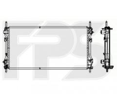 Радиатор охлаждения двигателя для FORD (FRIGAIR) FP 28 A740