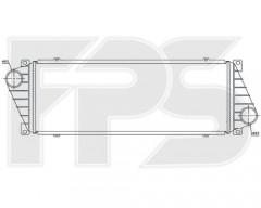 Интеркулер для MERCEDES / VW (NRF) FP 46 T36-X