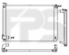 Радиатор охлаждения двигателя для LEXUS (KOYORAD) FP 81 A87-X