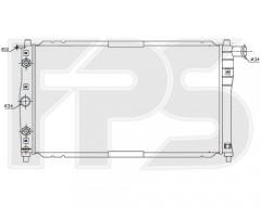 Радиатор охлаждения двигателя для DAEWOO (FPS) FP 22 A694
