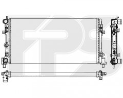 Радиатор охлаждения двигателя для VW (BEHR) FP 74 A854-X
