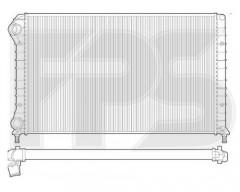 Радиатор охлаждения двигателя для FIAT (FPS) FP 26 A1444