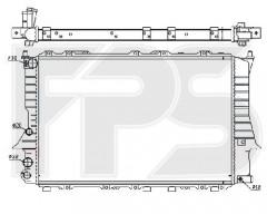 Радиатор охлаждения двигателя для AUDI (NRF) FP 12 A412-X