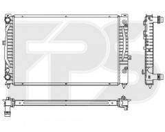 Радиатор охлаждения двигателя для AUDI / SKODA / VW (FPS) FP 74 A424