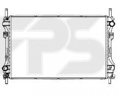 Радиатор охлаждения двигателя для FORD (FPS) FP 28 A742-P