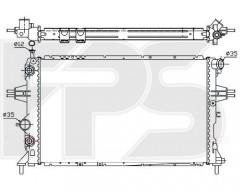 Радиатор охлаждения двигателя для OPEL (NRF) FP 52 A282