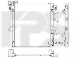 Радиатор охлаждения двигателя для MITSUBISHI (KOYORAD) FP 48 A1371-X