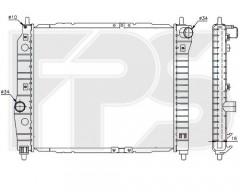 Радиатор охлаждения двигателя для CHEVROLET (FPS) FP 17 A699-P