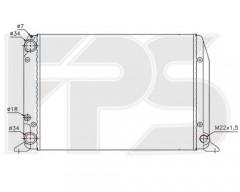 Радиатор охлаждения двигателя для AUDI (NRF) FP 12 A417