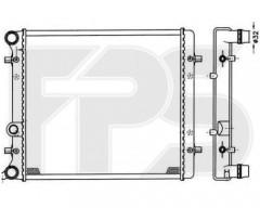 Радиатор охлаждения двигателя для SEAT / SKODA / VW (FPS) FP 64 A433