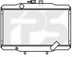 Радиатор охлаждения двигателя для HYUNDAI (FPS) FP 32 A642-P