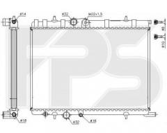Радиатор охлаждения двигателя для CITROEN / PEUGEOT (AVA) FP 20 A81