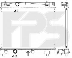 Радиатор охлаждения двигателя для TOYOTA (KOYORAD) FP 70 A1319-X
