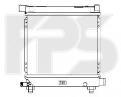 Радиатор охлаждения двигателя для MERCEDES (FPS) FP 46 A216