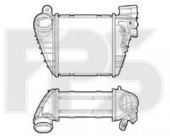 Интеркулер для VW (Nissens) FP 74 T65-X