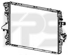 Радиатор охлаждения двигателя для VW (KOYORAD) FP 74 A1212-X