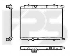 Радиатор охлаждения двигателя для CITROEN / PEUGEOT (FPS) FP 54 A63