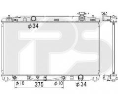 Радиатор охлаждения двигателя для Toyota Camry V40 '06-11, европ. версия (KOYORAD) FP 70 A1324-X