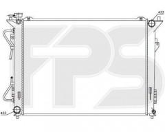 Радиатор охлаждения двигателя для HYUNDAI (OEM) FP 32 A1443-X