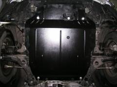 Фото 2 - Защита двигателя и КПП, радиатора для Citroen С-Crosser '07-12, V-2,2HDI; 2,4, АКПП (Кольчуга)