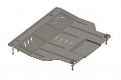Кольчуга Защита картера двигателя и КПП, радиатора для Citroen Nemo '08-, V-все (Кольчуга)
