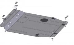 Кольчуга Защита картера двигателя и КПП для Dodge Caliber '06-12, АКПП, V-2,4 (Кольчуга)
