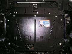 Фото 1 - Защита двигателя и КПП, радиатора для Hyundai i30 FD '07-12, V-все, АКПП, МКПП, АКПП, МКПП (Кольчуга)