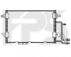 Радіатор кондиціонера для AUDI (NRF) FP 12 K207-X