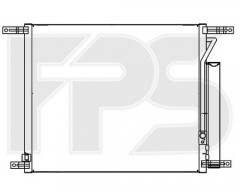 Радіатор кондиціонера для CHEVROLET (AVA) FP 17 K131