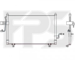 Радиатор кондиционера для CHEVROLET (OEM) FP 17 K314-X