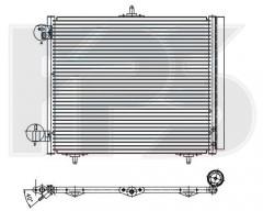 Радиатор кондиционера для CITROEN / PEUGEOT (NRF) FP 20 K25-X