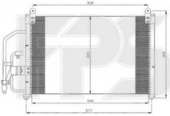 Радиатор кондиционера для DAEWOO (FPS) FP 22 K308-P