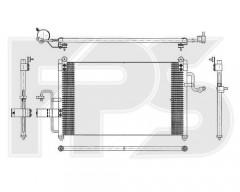 Радиатор кондиционера для DAEWOO (BEHR) FP 22 K335
