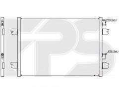 Радиатор кондиционера для DACIA / RENAULT (Nissens) FP 27 K166