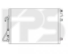 Радиатор кондиционера для DACIA / RENAULT (Nissens) FP 27 K460
