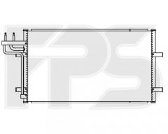 Радиатор кондиционера для FORD (FPS) FP 28 K82
