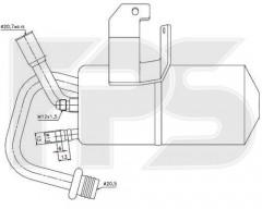 Осушитель кондиционера для FORD / MAZDA (NRF) FP 28 Q120-X