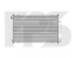 Радиатор кондиционера для HONDA (NRF) FP 30 K274-X