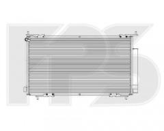 Радиатор кондиционера для HONDA (Koyorad) FP 30 K389-X