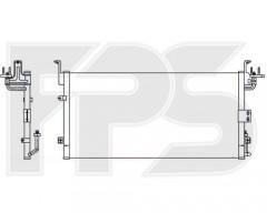 Радиатор кондиционера для HYUNDAI (NRF) FP 32 K295