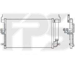 Радиатор кондиционера для HYUNDAI (Nissens) FP 32 K296