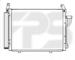 Радиатор кондиционера для HYUNDAI (OEM) FP 32 K58-X