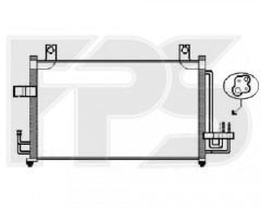 Радиатор кондиционера для KIA (OEM) FP 40 K388-X