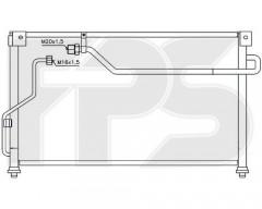 Радиатор кондиционера для MAZDA (FPS) FP 44 K283