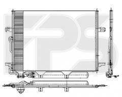 Радіатор кондиціонера для MERCEDES (FPS) FP 46 K109