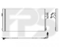 Радиатор кондиционера для MERCEDES (NRF) FP 46 K405-X