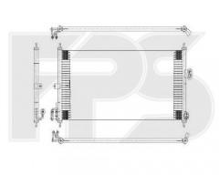 Радиатор кондиционера для NISSAN (NRF) FP 50 K421-X