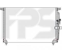 Радиатор кондиционера для OPEL (Nissens) FP 52 K123