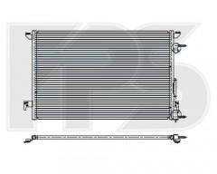 Радіатор кондиціонера для FIAT/OPEL (NRF) FP 52 K133
